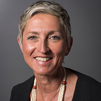 Headshot of Linda-Gail Bekker, a member of the Board of Directors with IAVI, the International AIDS Vaccine Initiative
