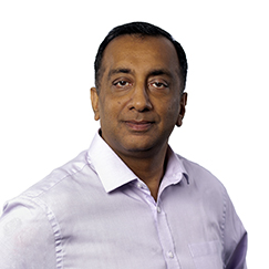 Headshot of Dr. Rajat Goyal, Country Director, India, with the International AIDS Vaccine Initiative
