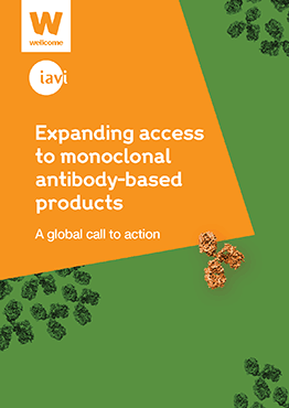 Expanding access to monoclonal antibody based products cover