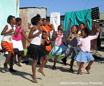 African Girls Dancing homepage