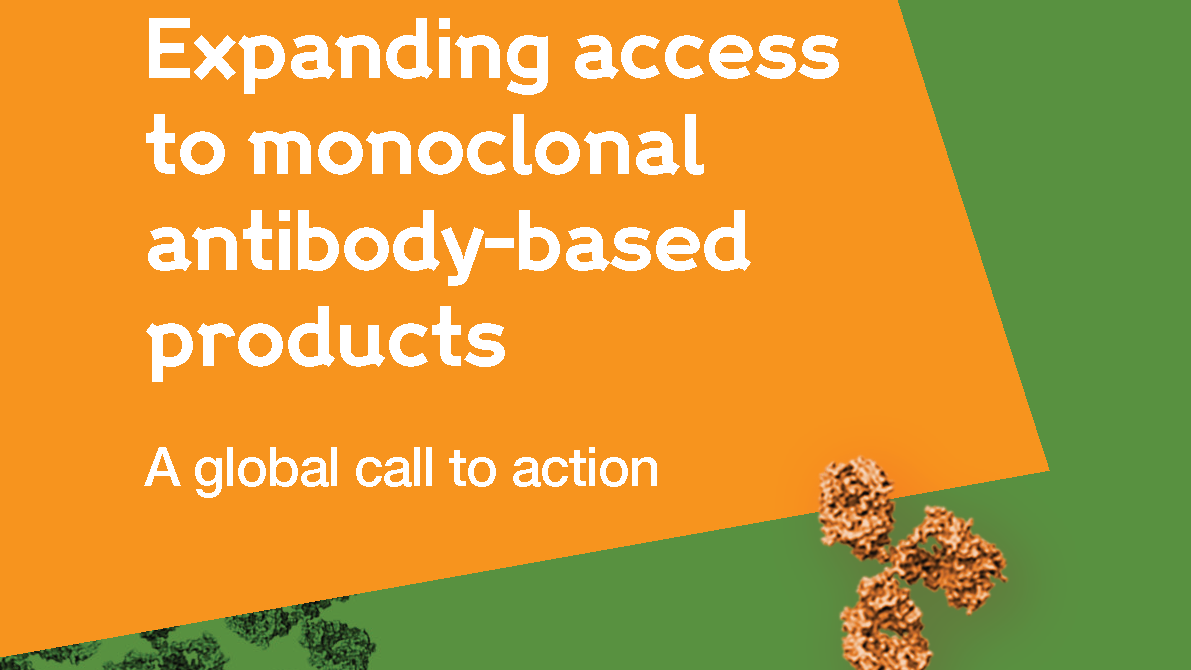 Expanding access to monoclonal antibody-based products