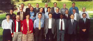 Attendees of the 1994 Bellagio meeting that kick-started IAVI